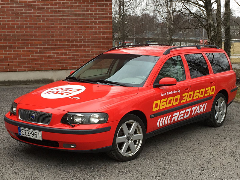 red-taxi-V70